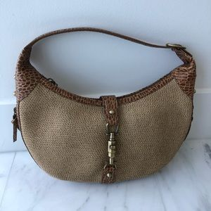 Eric Javits Squishee® Tan Hobo Bag